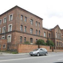 Buvusiame policijos pastate – nekviesti svečiai