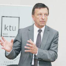 V. Pranckietis su akademinės etikos kontrolieriumi aptars tyrimą dėl KTU rektoriaus