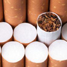 Daugiabučio rūsyje – kontrabandinės cigaretės