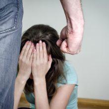 Įsisiautėjęs klaipėdietis mušė ir žmoną, ir dukrą