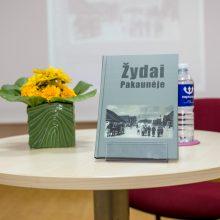 """Knygoje """"Žydai Pakaunėje"""" – daugiakultūrio gyvenimo pėdsakai"""