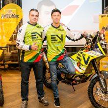 Į Dakaro pragarą kaunietis lėks su čempiono motociklu
