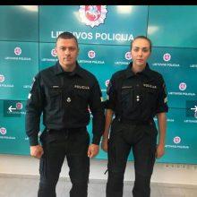 L. Pernavas metė iššūkį naujosios policijos uniformos kritikams