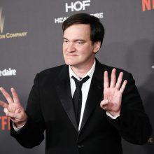Q. Tarantino prisipažino žinojęs apie nederamą H. Weinsteino elgesį