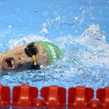 Plaukikas E. Matakas: į Europos čempionatą vykstu kaip favoritas