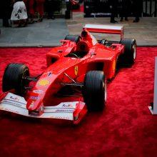"M. Schumacherio ""Ferrari"" parduotas už rekordinius 7,5 mln. dolerių"
