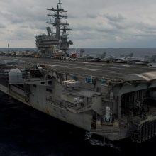 Filipinų jūroje nukritus JAV lėktuvui išgelbėti aštuoni žmonės