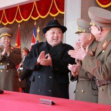 Šiaurės Korėjos lyderis giria Pietų Korėjos svetingumą