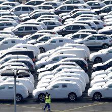 """Volkswagen"" teks atšaukti 124 tūkst. elektromobilių"