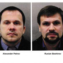 Skripalių apnuodijimas: Britanija pareiškė kaltinimus dviem rusams