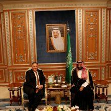 JAV: Saudo Arabija sutinka, kad reikia išsamaus tyrimo dėl dingusio žurnalisto