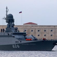 JT pareiškė susirūpinimą dėl Krymo militarizavimo