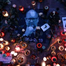 Po Gdansko mero nužudymo sulaikytas labdaros koncerto saugumo vadovas