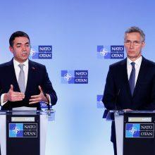 Pasirašytas protokolas dėl Makedonijos prisijungimo prie NATO