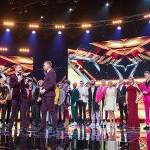 """Pirmasis """"X Faktoriaus"""" finalas: šou paliko du dalyviai"""