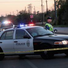 Teksase susisprogdino policijos užspeistas sprogdintojas maniakas