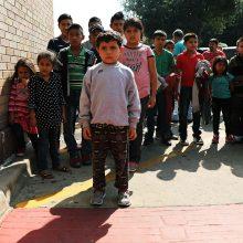 Nelegalių migrantų šeimoms dar negrąžinta daugiau kaip 700 vaikų