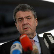 Vokietijos diplomatijos vadovas nedirbs naujoje vyriausybėje