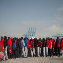 Dėl migrantų antplūdžio – skubi ES pagalba Ispanijai