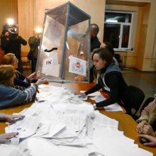 Seimas pasmerkė rinkimus Rusijos kontroliuojamose srityse Ukrainoje