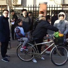 20 vaikų Kinijos mokykloje sužeidęs vyras buvo ginkluotas plaktuku