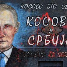 Į Belgradą vykstantis Rusijos prezidentas bus sutiktas kaip roko žvaigždė