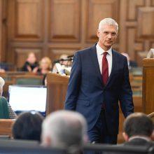 Latvijos šių metų biudžetas gali būti priimtas tik balandį
