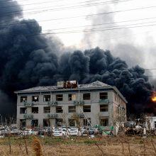 Sprogimo Kinijos chemijos fabrike aukų padaugėjo iki 47