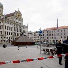 Vokietijoje evakuotos mažiausiai šešių miestų rotušės