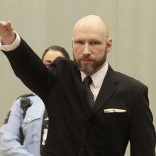 A. B. Breiviko skundas dėl kalinimo sąlygų tikslo nepasiekė