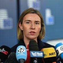 ES diplomatai palaiko idėją pratęsti sankcijas Rusijai