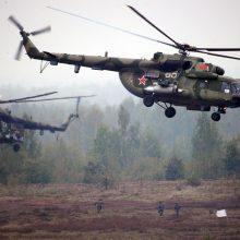 """Rusija: per """"Zapad"""" pratybas JAV patylomis dislokavo tankus Lenkijoje"""