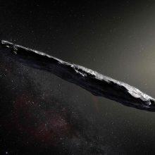 Cigaro formos asteroidas atkeliavo iš tarpžvaigždinės erdvės