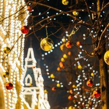 Sinoptikė: laukia šiltos ir lietingos Kalėdos