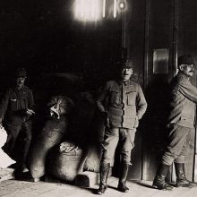 1917 m. propaganda: klastingais pridavimais vokiečių vyriausybės nieks neapgaus