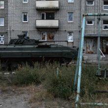 Konfliktas Ukrainoje: abejingi vaikų žvilgsniai – blogiau už kulkų zvimbesį