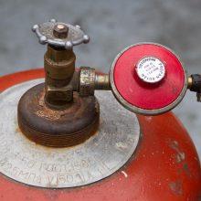 Ekspertai perspėja dėl dujų balionų: būtina laikytis saugos taisyklių