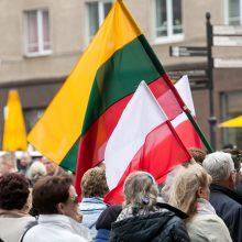 Lietuvos vadovai sveikina Lenkiją nepriklausomybės dienos proga