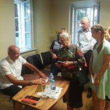 Muziejuje G. Labanauskas pristatė penkioliktąją knygą