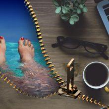 Trys žingsniai ir turite atostogas norimu metu
