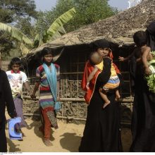 JT: Mianmare per išpuolius prieš rohinjus galimai žuvo šimtai žmonių