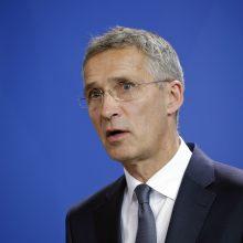 NATO vadovas: nėra garantijų, kad aljansas išliks