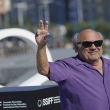 Aktorius D. DeVito Ispanijoje apdovanotas už viso gyvenimo nuopelnus