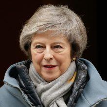 Th. May: Britanija bet kokiu atveju paliks ES kovo pabaigoje