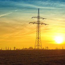 Elektros kaina Lietuvoje pasiekė rekordines aukštumas