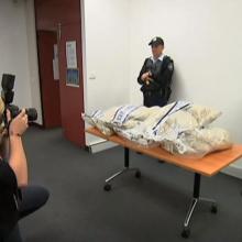 Australijoje rastas neįtikėtinas kiekis narkotikų