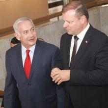 Premjeras: Izraelis – mūsų strateginis partneris Artimųjų Rytų regione