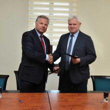 Eimutis Juzeliūnas ir Vytautas Grubliauskas