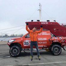 Lenktynininkas A. Juknevičius jau laukia kelionės į Peru