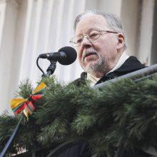 V. Landsbergis: nevokim, nemeluokim ir nepamirškim brolystės meilės